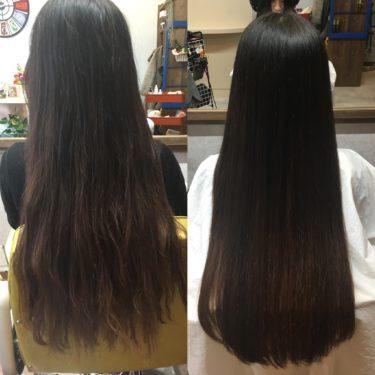 髪質改善での勘違い!髪の毛は一度傷んでしまうと元には戻りません!綺麗に見せて扱いやすくするのが「髪質改善メニュー」