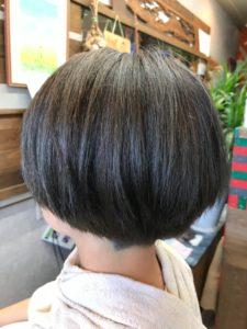 ブリーチ毛にオンカラー