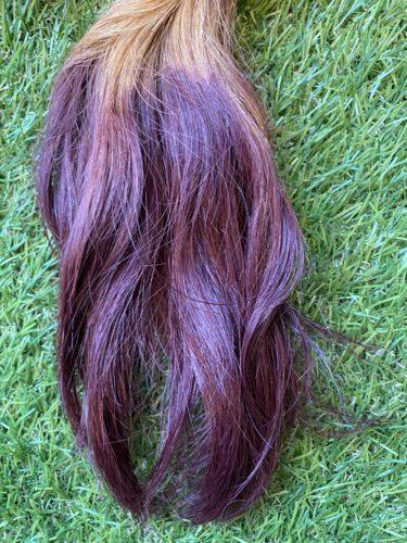 ヘアカラーをした髪の毛はアイロンの熱で色落ちする?検証してみた結果・・・