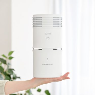 手に乗るサイズの空気清浄機!空気、空間を復元する!復元AIR(FUKUGEN AIR)